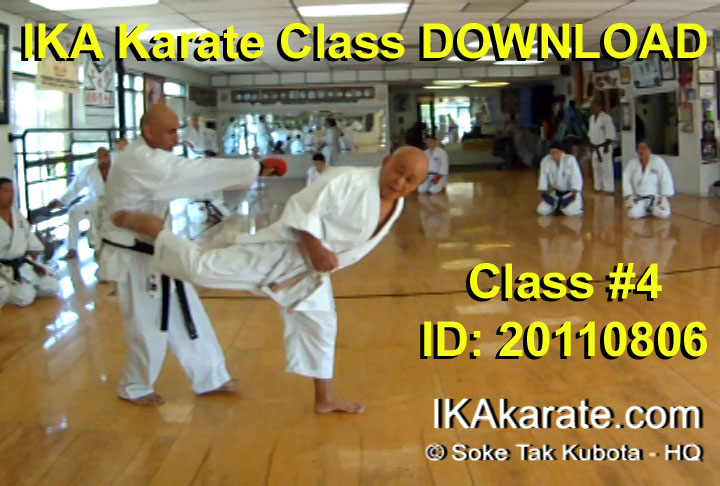 Tak Kubota Karate web class video Downloads